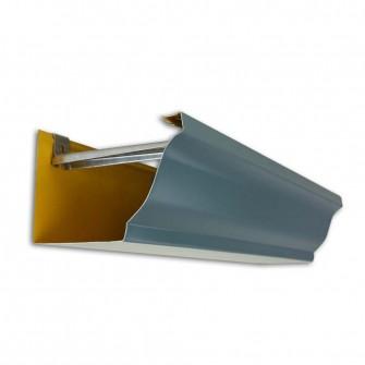 Gouttière aluminium corniche 4 mètres dév.300 coloris au choix