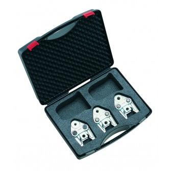 Mallette de pinces à sertir Virax pour modèles P10, P22+,P25+ et P30+ Profil au choix