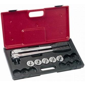 Coffret pince à emboîture cuivre virax 5 outils