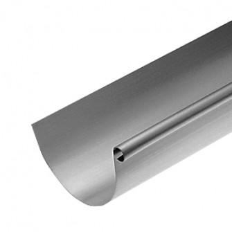 Gouttière zinc demi-ronde boudin 14 Rheinzink dimensions au choix