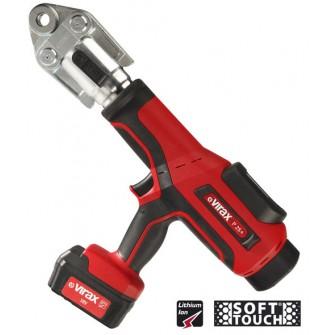 Presse à sertir électro-hydraulique Viper® P25+ Virax avec 2 batteries 18V 3AH + 1 chargeur