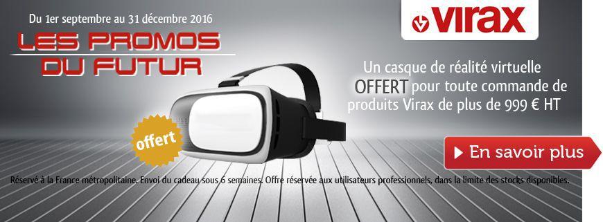 Un casque de réalité virtuelle en cadeau