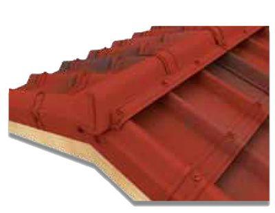 tuiles onduvilla pour toiture d'abri de jardin