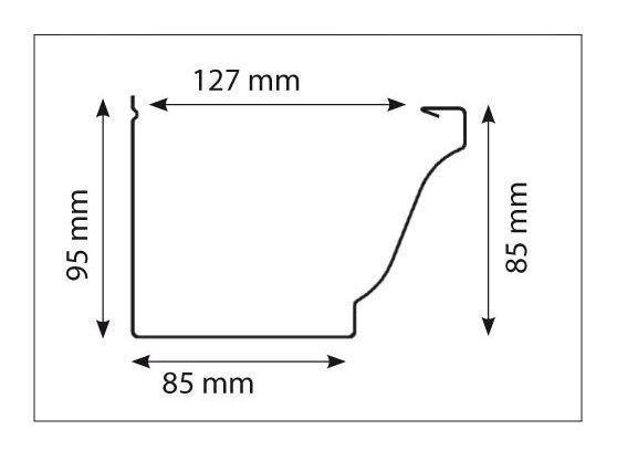 profil gouttière alu