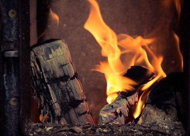 flambée poêle à bois