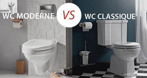 Les différents types de toilettes