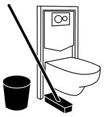 WC Suspendu facile d'entretien