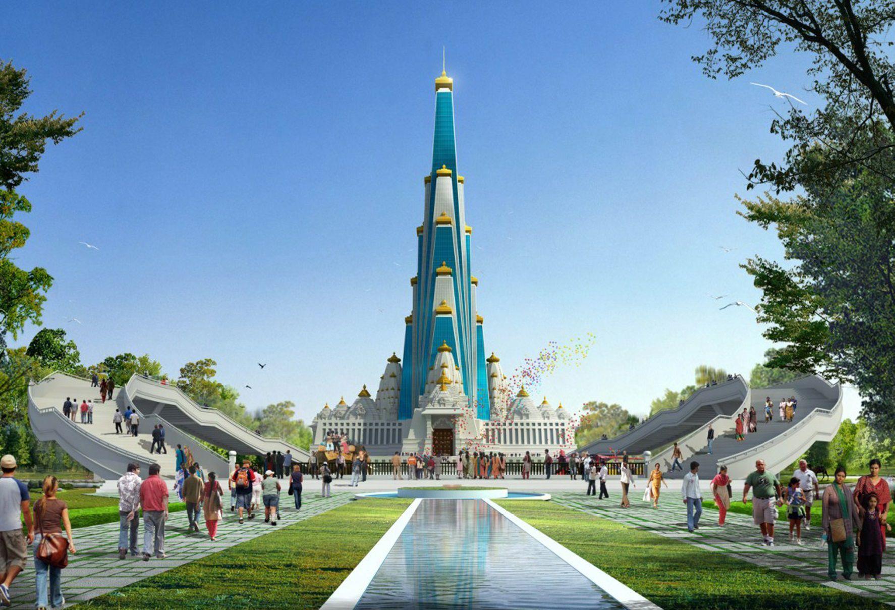 Le plus grand temple du monde