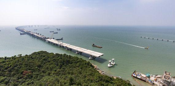 Pont Hong-Kong Zuhuai Macao