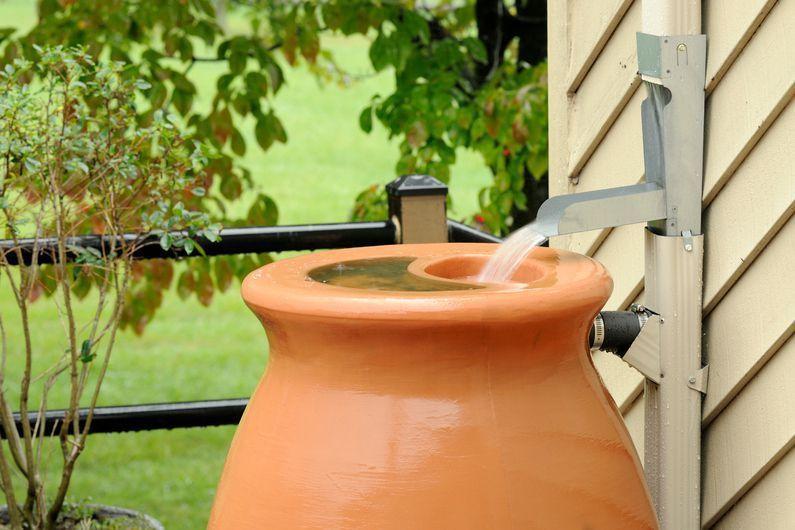 comment installer un récupérateur d'eau