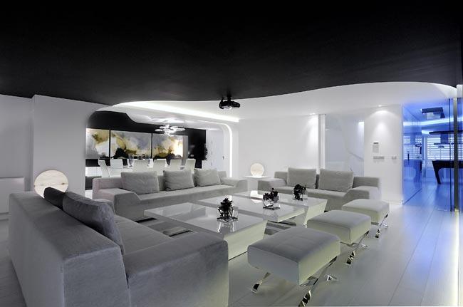 Plafond noir