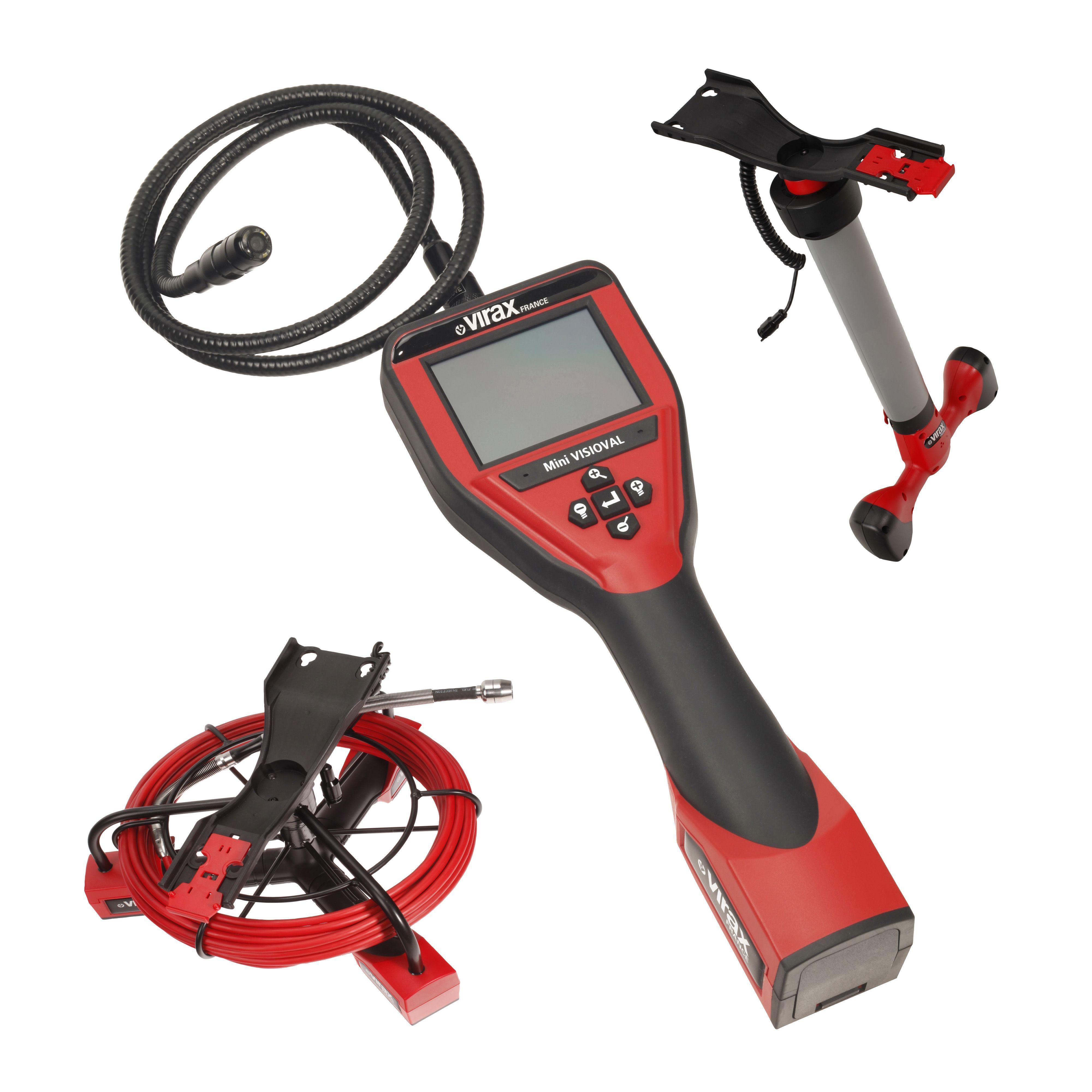 Caméra d'inspection Mini Visioval® + câble 16 m + localisateur