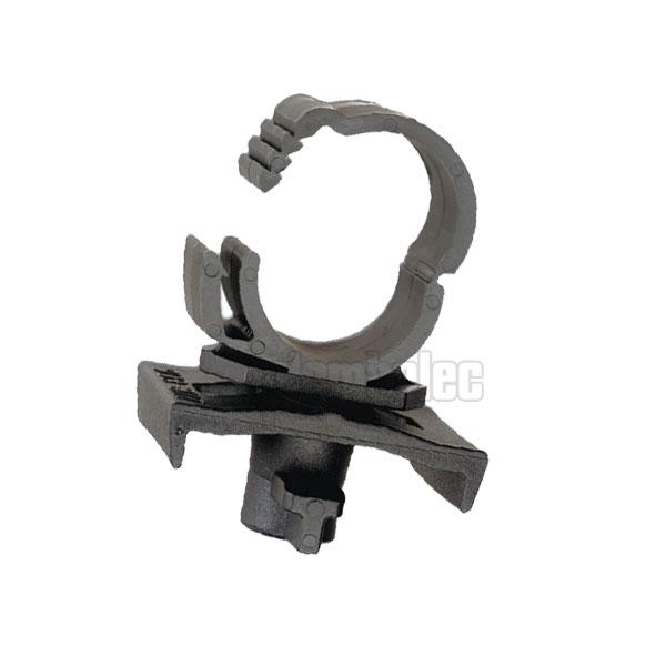 Collier twist clip pour rail sachet de 10 collier twist clip colliers pour tube pvc - Collier de fixation plomberie ...