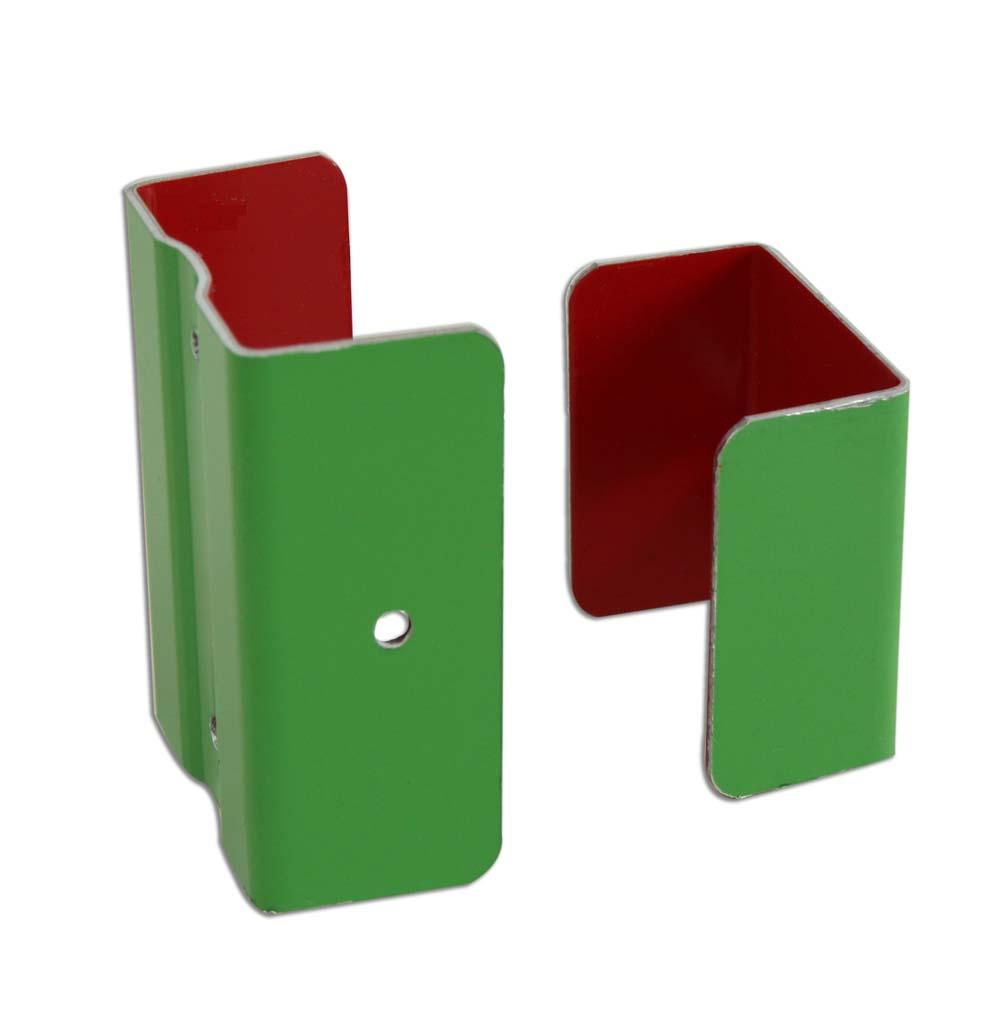 fixation de descente aluminium coloris au choix distriartisan. Black Bedroom Furniture Sets. Home Design Ideas