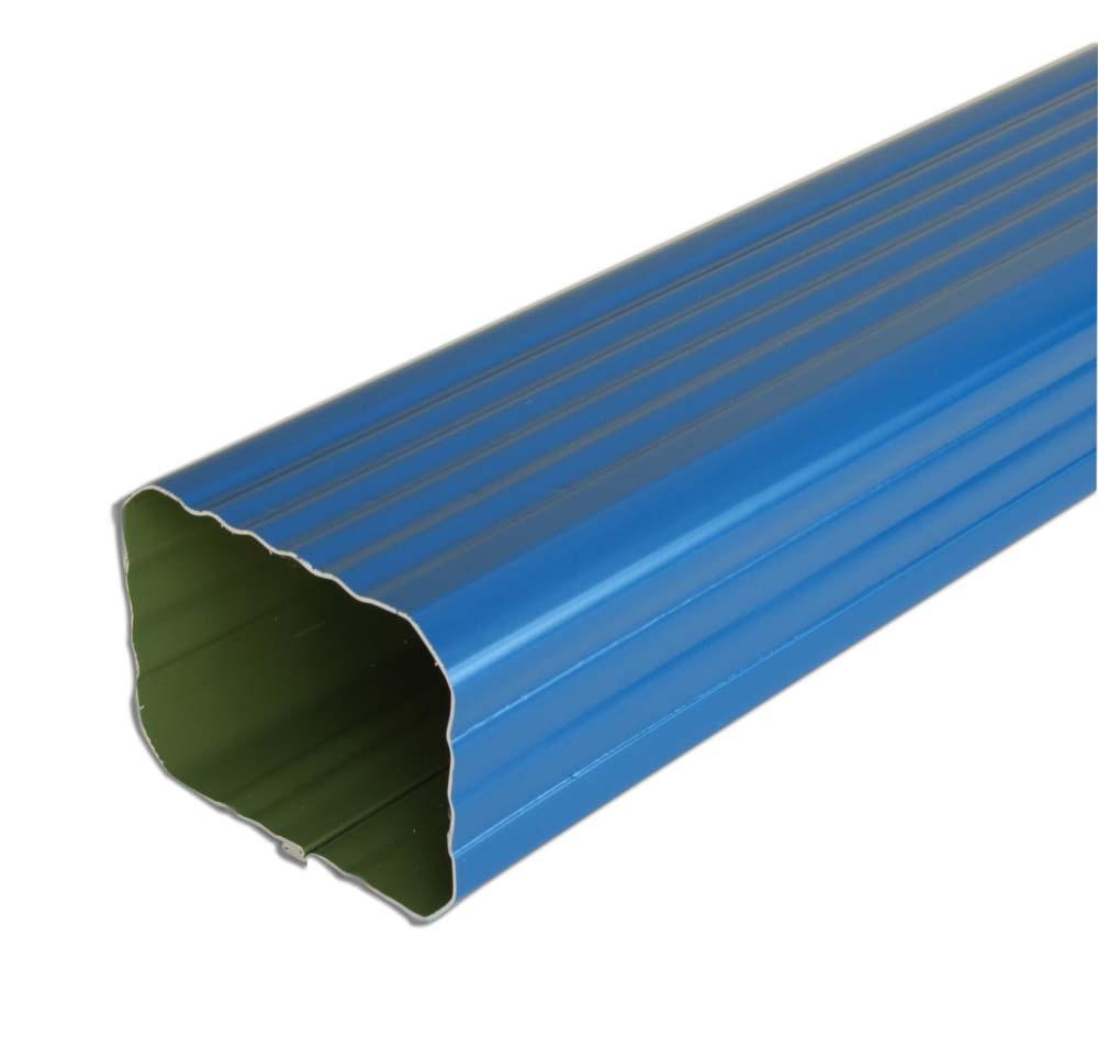tube de descente 2m aluminium rectangulaire 60x80mm distriartisan. Black Bedroom Furniture Sets. Home Design Ideas