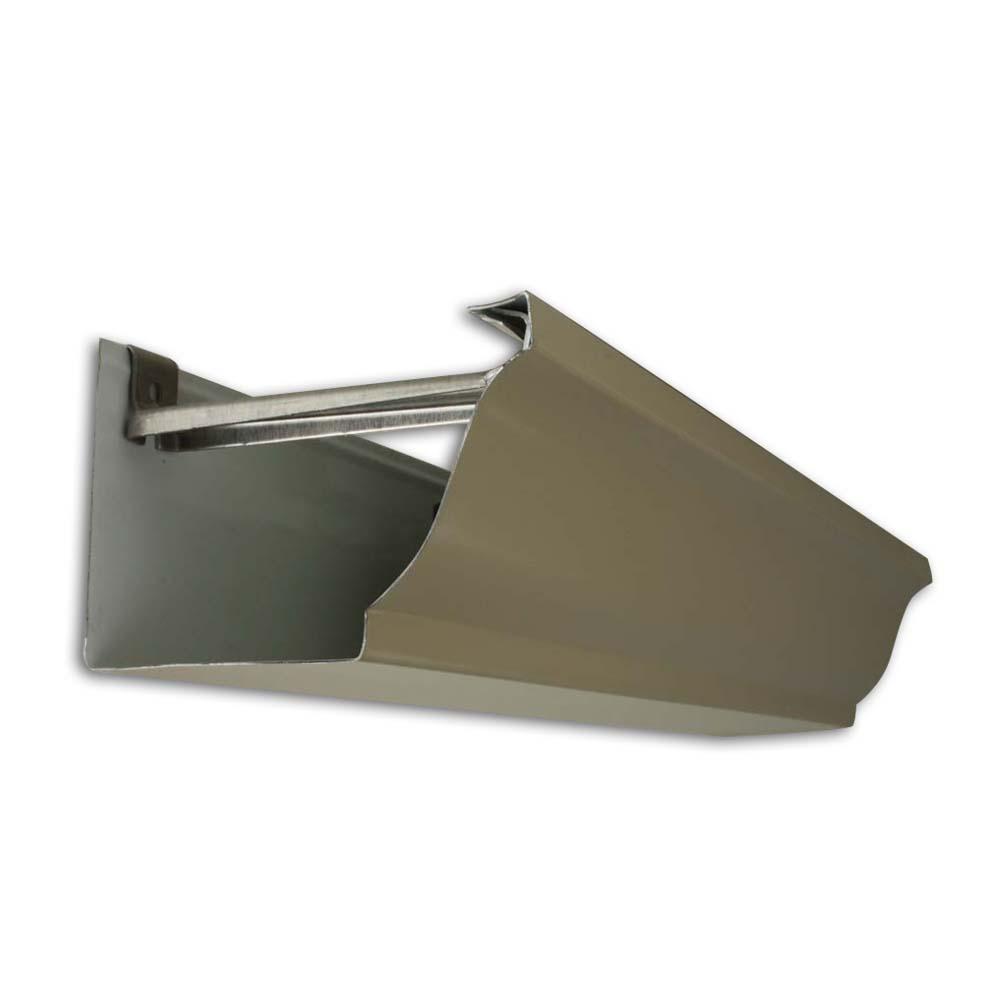 goutti re aluminium corniche 4 m tres d coloris au choix goutti re aluminium corniche. Black Bedroom Furniture Sets. Home Design Ideas