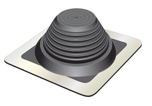 manchon fenoflash epdm pour sortie de toit fixation bac. Black Bedroom Furniture Sets. Home Design Ideas