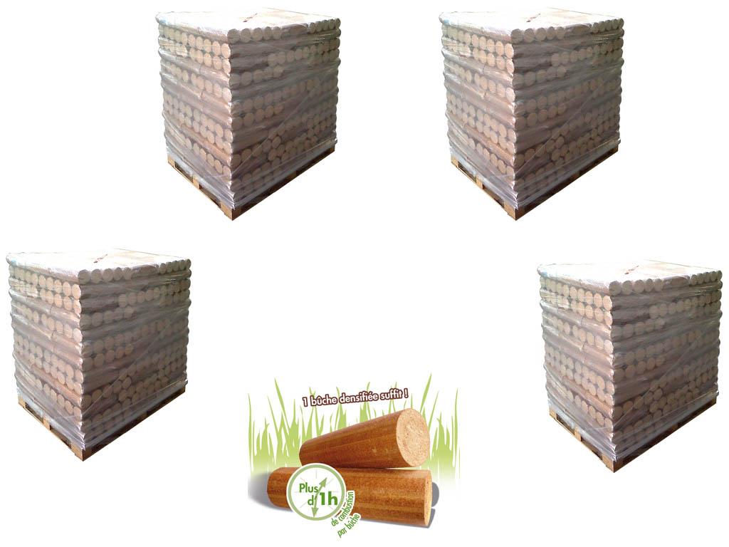 B u00fbche compréssée Woodstock bois densifié Nombre de palettes de 104×5 b u00fbches au choix  # Woodstock Bois Densifié