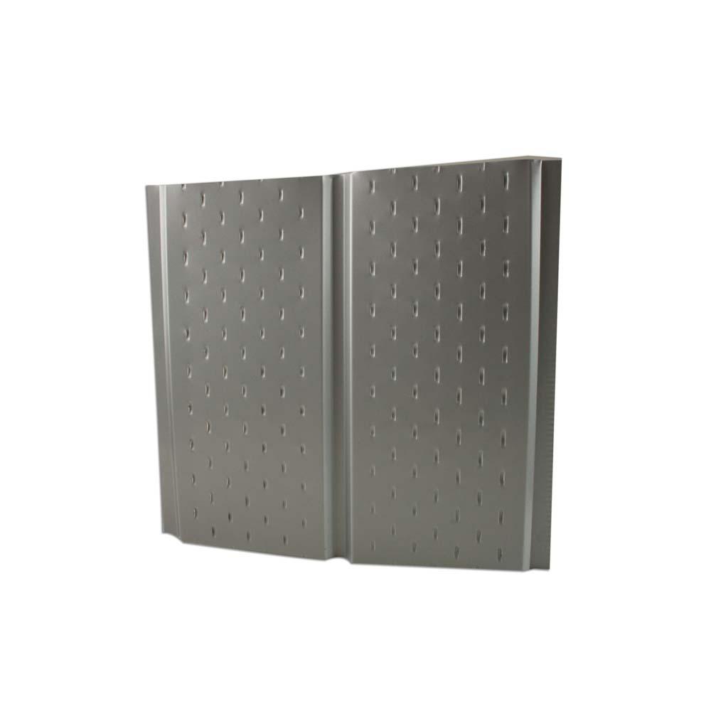 Sous face de toiture perforée ventilée aluminium 2,5 x 0,40 m coloris au choix - Gouttière ...