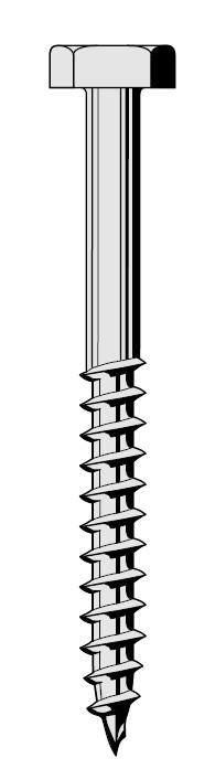 tirefond th 8x130mm visser galvachaud 100 pi ces fixation plaques sous tuiles et. Black Bedroom Furniture Sets. Home Design Ideas