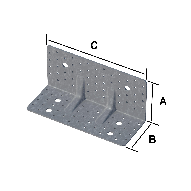 equerre renforc e pour clt connecteurs charpente. Black Bedroom Furniture Sets. Home Design Ideas