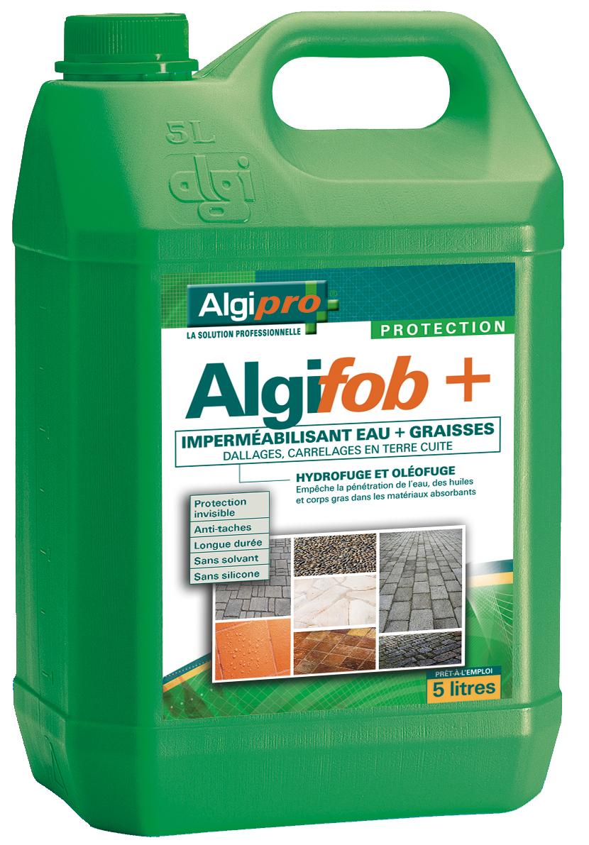 Algifob imperm abilisant eau et graisses dallages et for Impermeabilisant carrelage