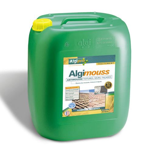 algimouss traitement toiture murs et fa ades 30 l. Black Bedroom Furniture Sets. Home Design Ideas