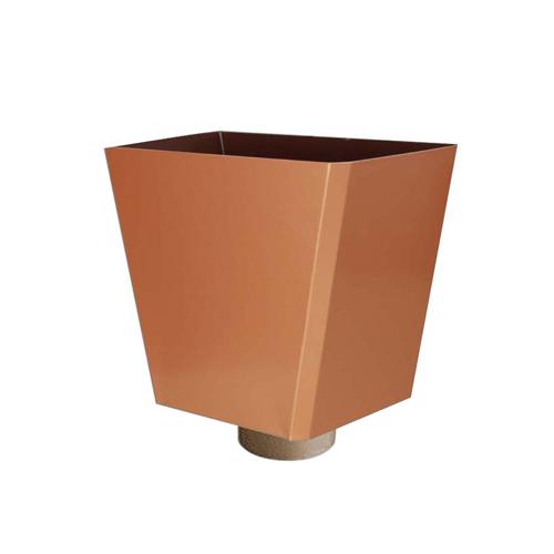 boite eau trap zo dale aluminium sortie 80 goutti re aluminium demi ronde goutti re. Black Bedroom Furniture Sets. Home Design Ideas