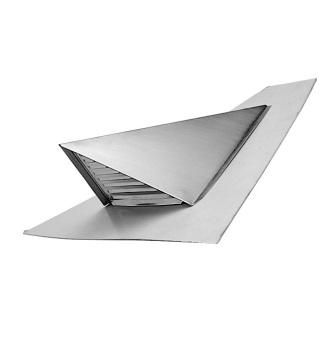 chati res de ventilation triangulaires pour couverture en ardoise ardoises eternit mat riaux. Black Bedroom Furniture Sets. Home Design Ideas