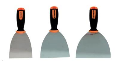 pack 5 couteaux enduire edma couteau enduire et bac enduit outillage plaquiste. Black Bedroom Furniture Sets. Home Design Ideas
