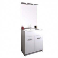 meuble salle de bains au sol tampa meuble salle de bain sanitaire distriartisan. Black Bedroom Furniture Sets. Home Design Ideas
