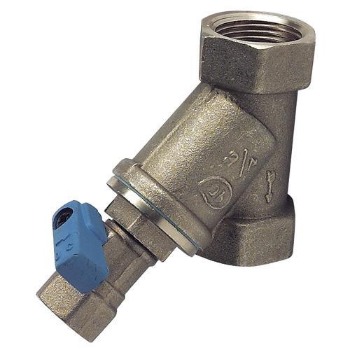 Filtre bronze eau double femelle diam tre au choix - Diametre alimentation eau maison ...