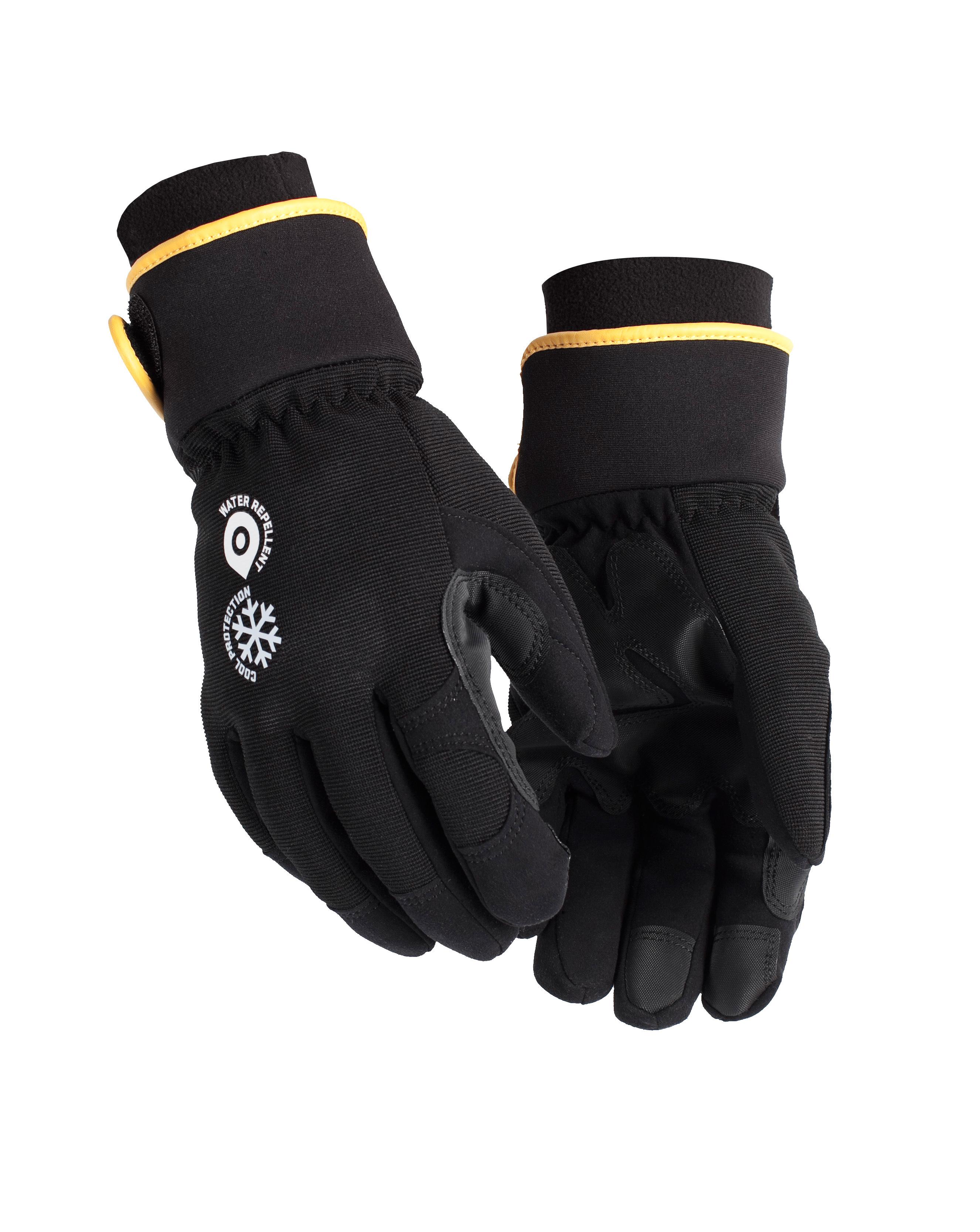 gants anti huile hiver noir gris v tements de travail couvreur charpentier menuisier. Black Bedroom Furniture Sets. Home Design Ideas