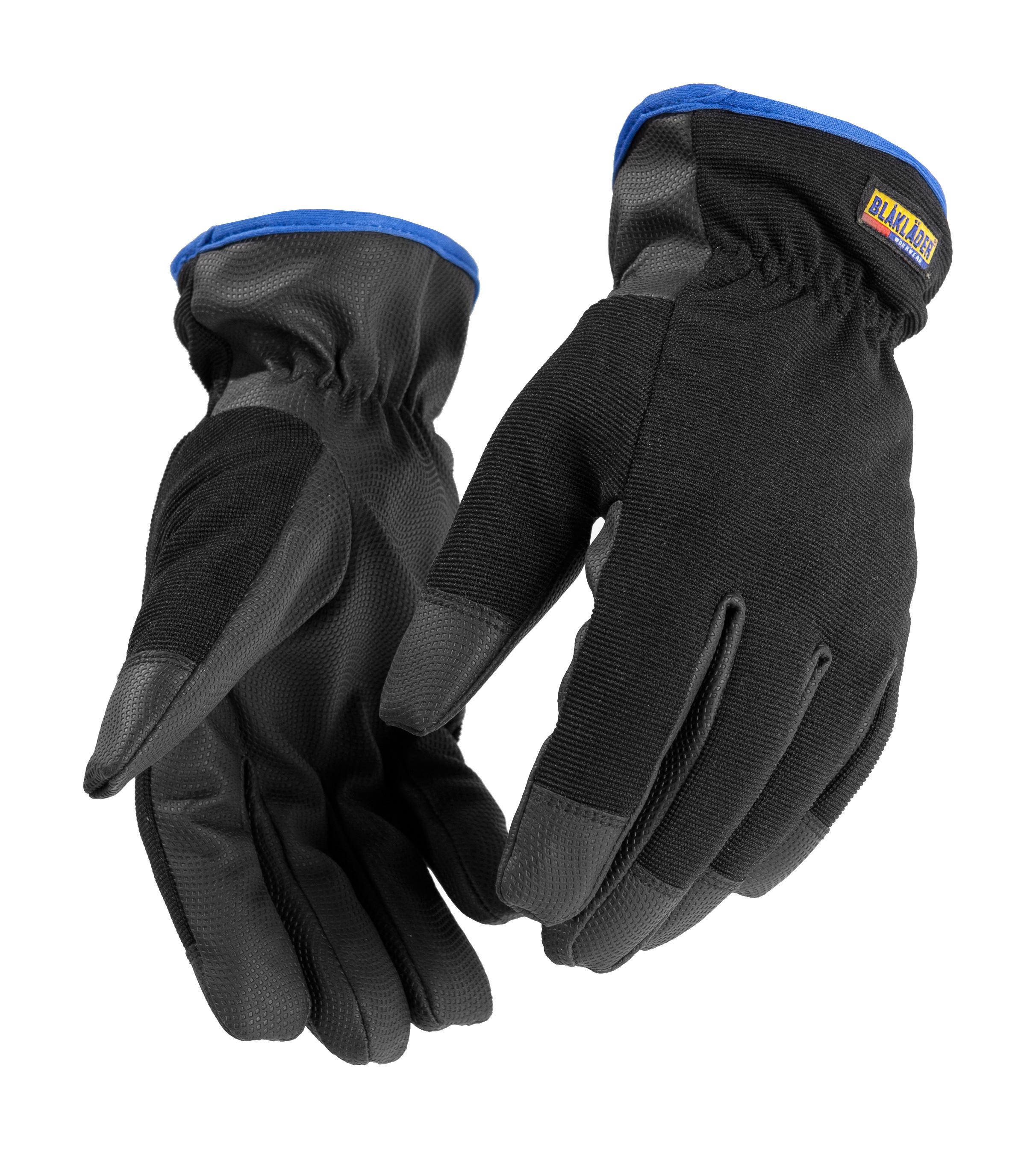 gants de travail hiver noir cuir gants de protection v tements et epi distriartisan. Black Bedroom Furniture Sets. Home Design Ideas