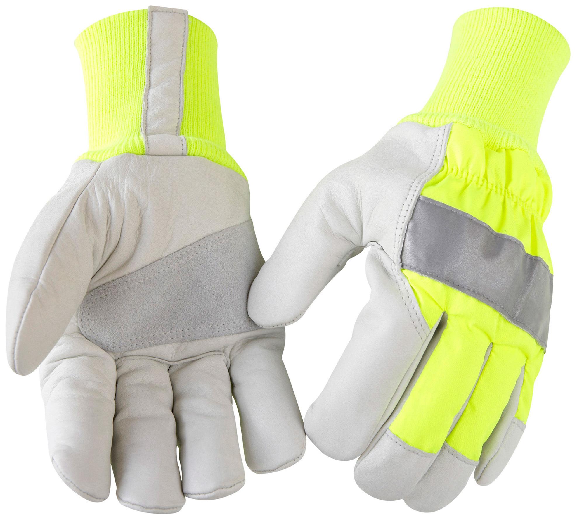 gants haute visibilit hiver jaune gris gants de protection v tements et epi distriartisan. Black Bedroom Furniture Sets. Home Design Ideas