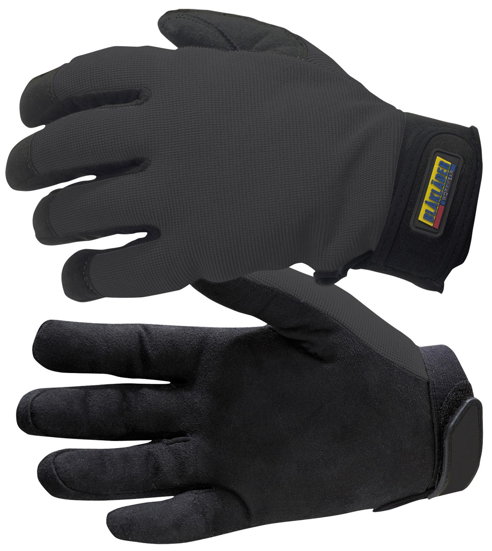 gants pour travaux de montage noir gants de protection v tements et epi distriartisan. Black Bedroom Furniture Sets. Home Design Ideas