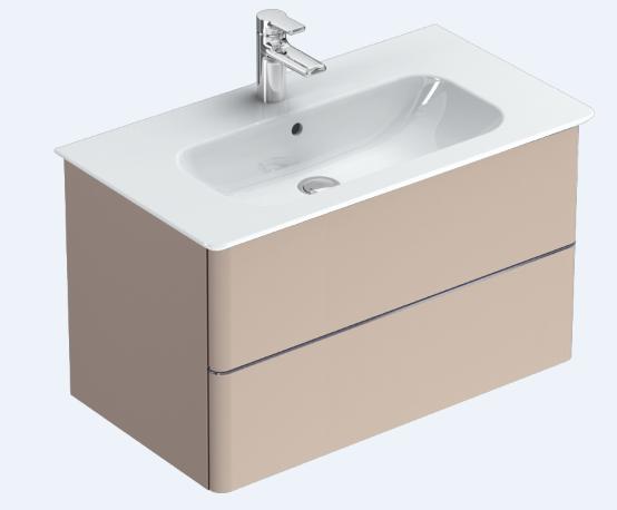Pack meuble salle de bains personnalisable 104 x 44 x 47 5 - Meuble personnalisable ...