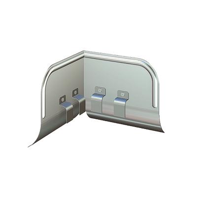 protection angulaire sk contre le trop plein goutti re acier galvanis goutti re. Black Bedroom Furniture Sets. Home Design Ideas