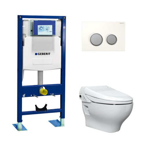 pack wc lavant geberit aquaclean 4000 3 en 1 autoportant wc lavant geberit aquaclean wc. Black Bedroom Furniture Sets. Home Design Ideas