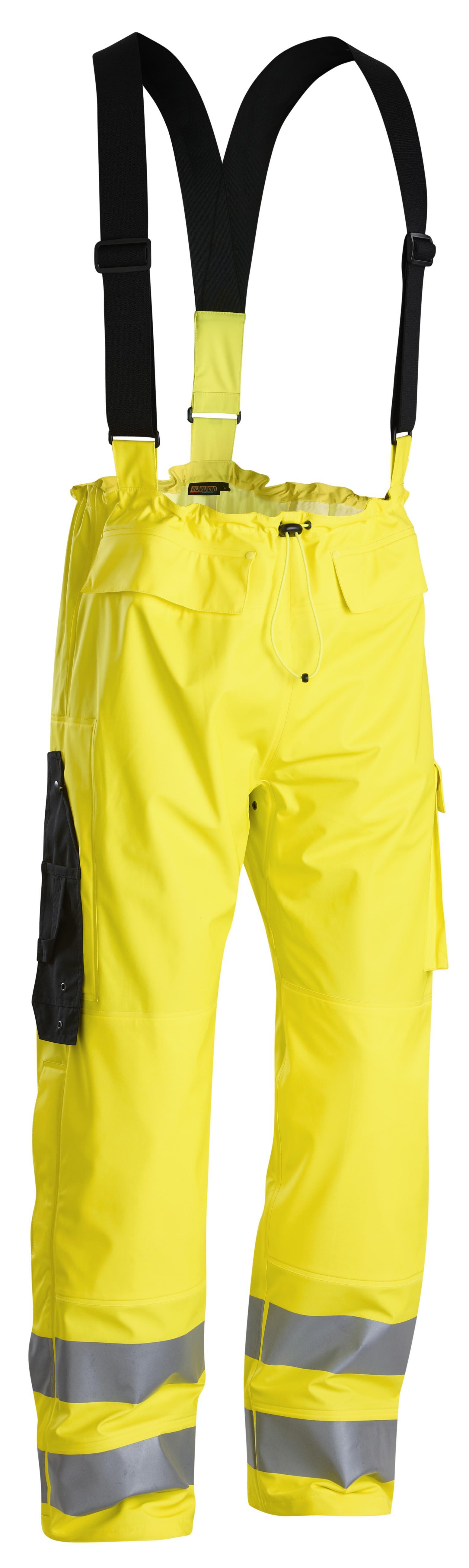 pantalon de pluie rf jaune pantalon de travail v tements de pluie v tements de travail. Black Bedroom Furniture Sets. Home Design Ideas