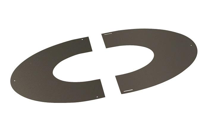 plaque de propret en inox pour conduit inox galva 180. Black Bedroom Furniture Sets. Home Design Ideas
