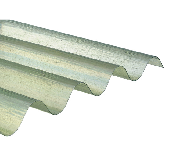 plaque ondul e transparente polyester 1 52 x 1 10 m grandes ondes 177 51 20 pi ces t le. Black Bedroom Furniture Sets. Home Design Ideas