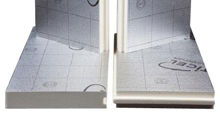 Panneau isolant thermique mur ext rieur recticel powerwall - Isolant exterieur polyurethane ...