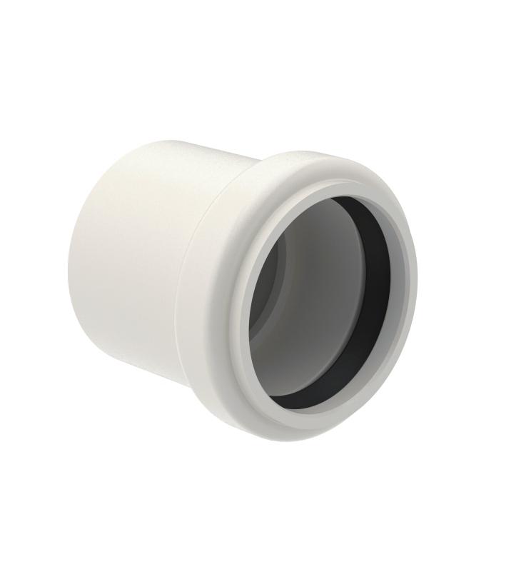 adaptateur pe joint pvc coller 50 geberit accessoire douche italienne douche l. Black Bedroom Furniture Sets. Home Design Ideas