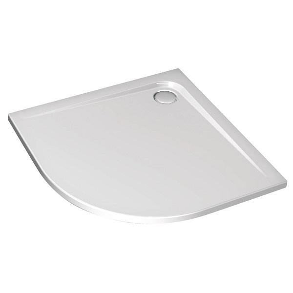 Receveur ultra flat asym trique connect ideal standard receveurs de douche douche - Receveur douche ideal standard ...