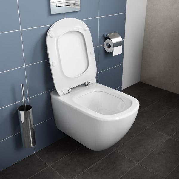 ensemble cuvette wc suspendue t si technologie aquablade. Black Bedroom Furniture Sets. Home Design Ideas