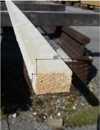 tasseau en bois autoclave 40x60 mm traitement et longueur au choix l 39 unit bois de. Black Bedroom Furniture Sets. Home Design Ideas