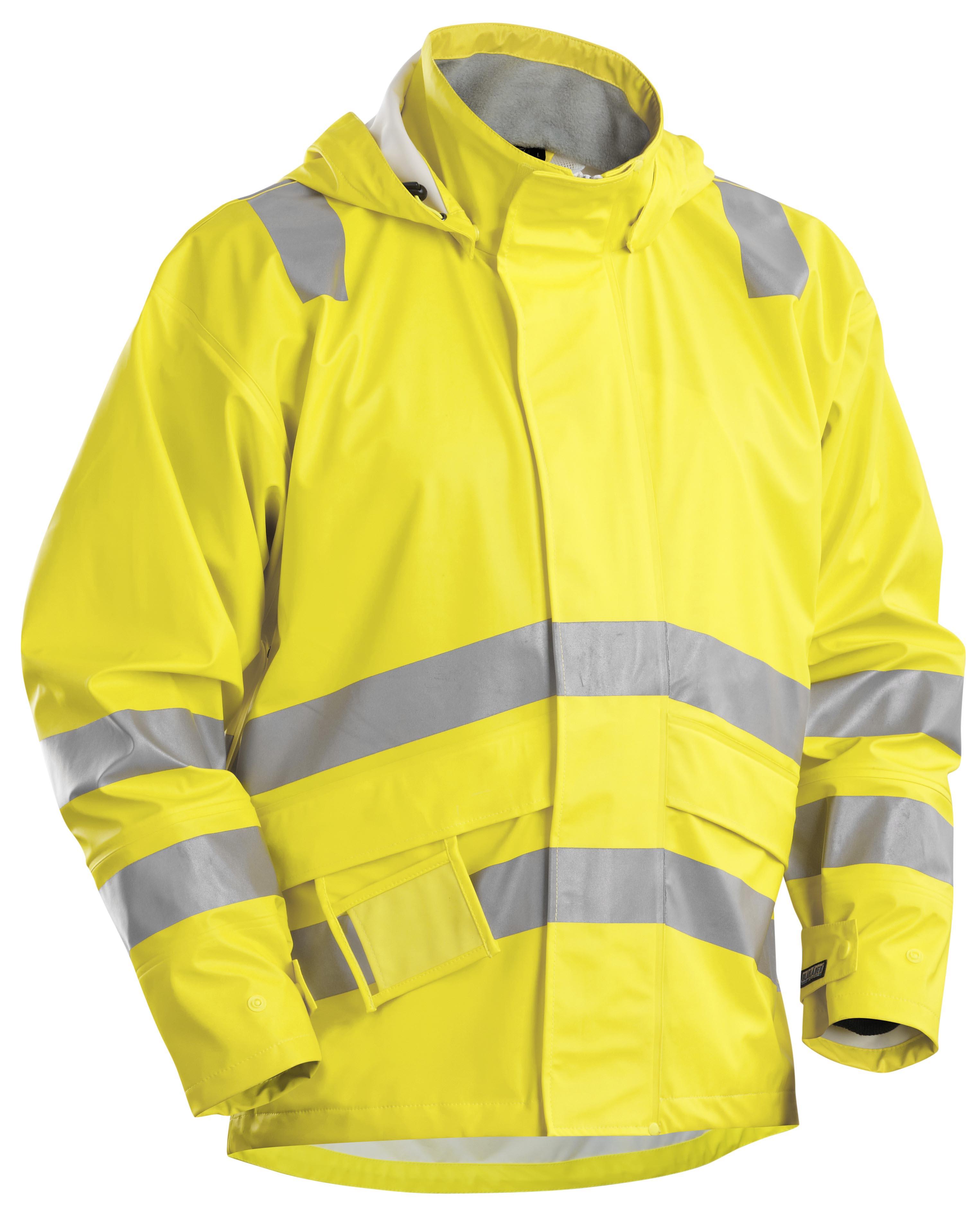 veste de pluie rf jaune veste de travail v tements de pluie v tements de travail. Black Bedroom Furniture Sets. Home Design Ideas