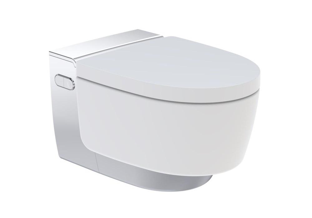 ensemble wc lavant geberit aquaclean ma ra habillage chrom brillant wc lavant geberit. Black Bedroom Furniture Sets. Home Design Ideas