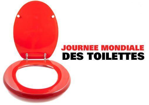 Journée mondiale des WC le 19 novembre